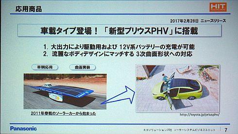 東海大学のソーラーカーにHITを提供することで生まれた応用商品