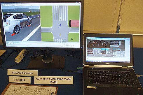 AZAPAとIHIが共同開発したADASテストケースのデモ画面