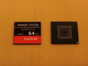 車載向けのNANDフラッシュメモリの新製品「iNAND 7250A」