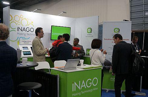 iNAGOの展示