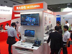 富士通の「コルミナ」のコーナー