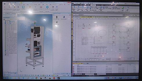 「ECAD DCX」と「IRONCAD」の連携機能による設計のイメージ