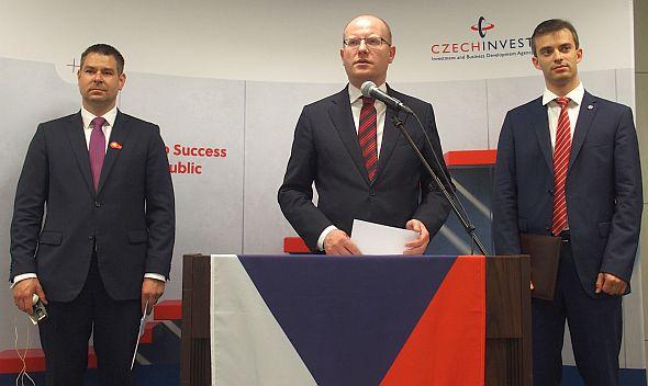 来日したチェコ首相のボフスラフ・ソボトカ氏