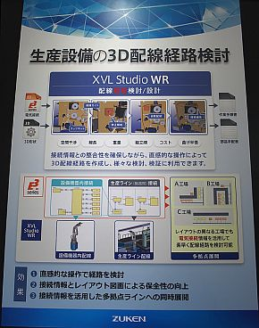 「XVL Studio WR」の説明パネル