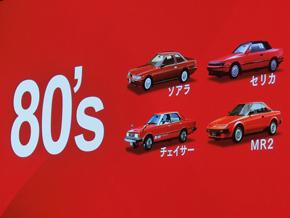 1980年代の人気モデルはデザインがよく走っても楽しいクルマだったと振り返る