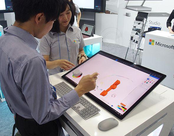 """「Surface Studio」は設計者の新たな""""キャンバス""""となるか"""