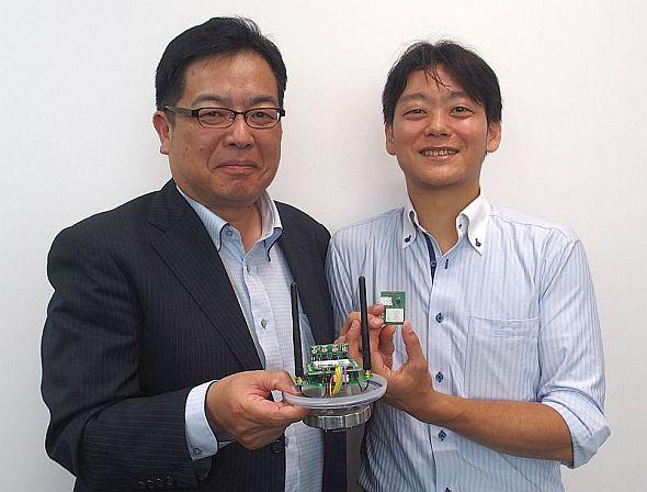 ゼロスペック 最高技術責任者の金子惠一氏とさくらインターネット IoT事業推進室 室長の山口亮介氏