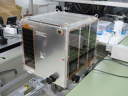 アクセルスペースの60kg衛星「ほどよし1号」