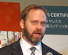 Wi-Fi Allianceのケビン・ロビンソン氏