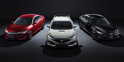 「シビック」シリーズの3タイプの新モデルを9月29日から日本で発売する