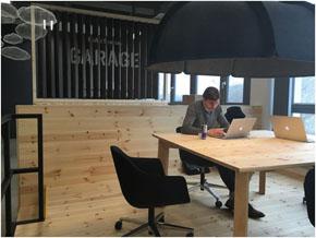 Startup Garageのオフィスの様子