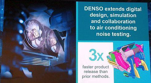 デンソーのカーエアコン騒音試験への適用事例