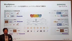 「MindSphere」の日本国内パートナー