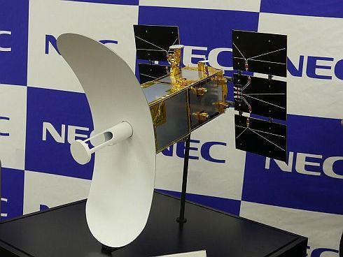 「ASNARO-2」の模型