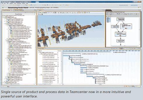 2011年発表の「Tecnomatix 10」の画面例