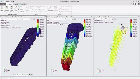 PTCの3D CAD「Creo 4.0」に搭載された中空の格子構造を出力する機能