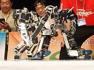 「第31回ROBO-ONE」の準々決勝の様子