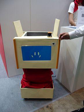 デンソーの自律移動型物流ロボット「DELITA」