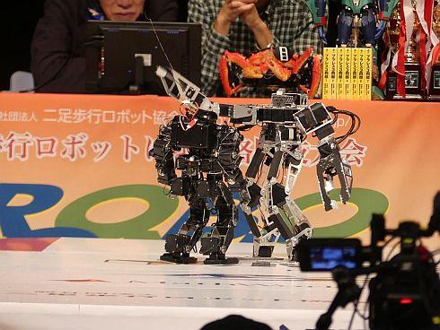 第2回ROBO-ONE autoの決勝戦
