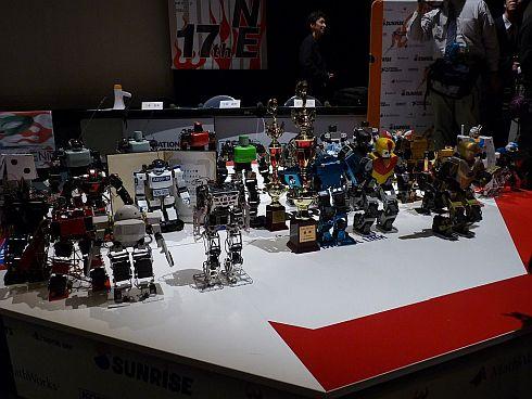 第1回ROBO-ONE Lightの出場ロボット