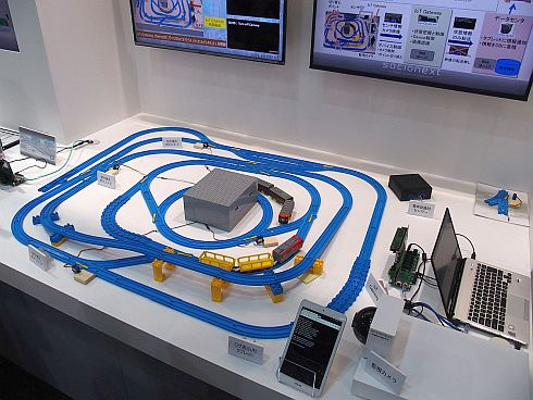ソシオネクストの「IoTゲートウェイ/サーバによるインテリジェント監視カメラ」