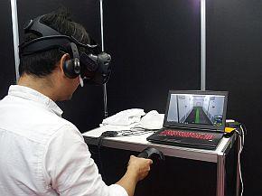 危険教育用VRコンテンツのデモ