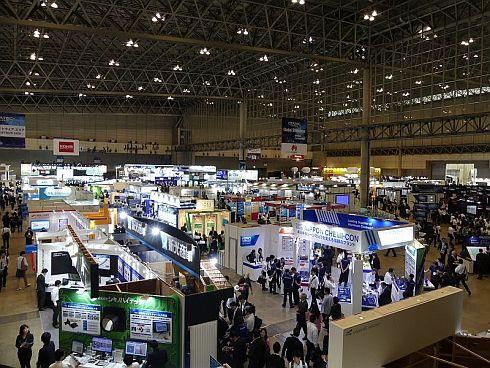 「CEATEC JAPAN 2017」の会場