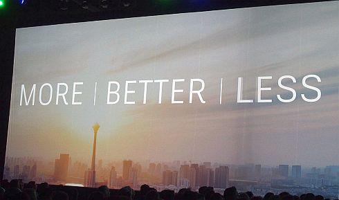 自動化によって「MORE」「BETTER」「LESS」を生み出す