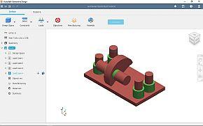 制約条件となる3D CADデータを入力