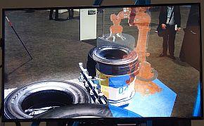 ARで新設備のロボットなどを確認できる
