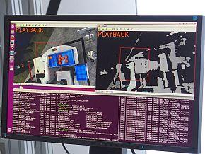 「CZ-10」と3Dセンサーによる認識の連動デモ