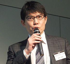 日本マイクロソフトの鈴木靖隆氏