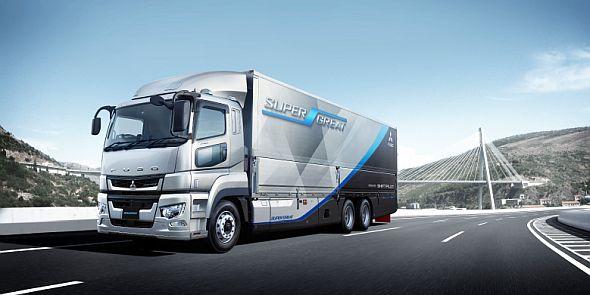 三菱ふそうトラック・バスは「Connected X」をコンセプトにデジタルトランスフォーメーションを推進している