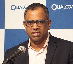 Qualcomm Technologiesのラジ・タルーリ氏