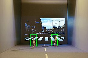 コニカミノルタの「3D AR HUD」