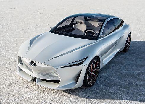 インフィニティブランドの中型セダンのコンセプトカー「Qインスピレーションコンセプト」