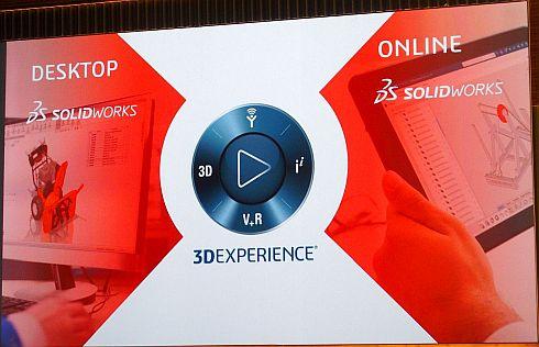 「SOLIDWORKS」と「3Dエクスペリエンスプラットフォーム」の連携