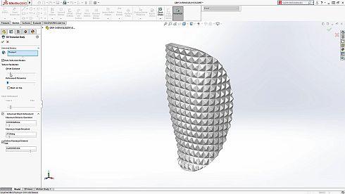 3D Texturize Bodyの画面例