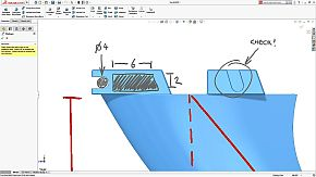 3D Markupsの画面例