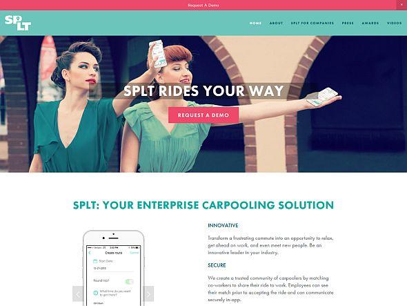 SPLTのWebサイト