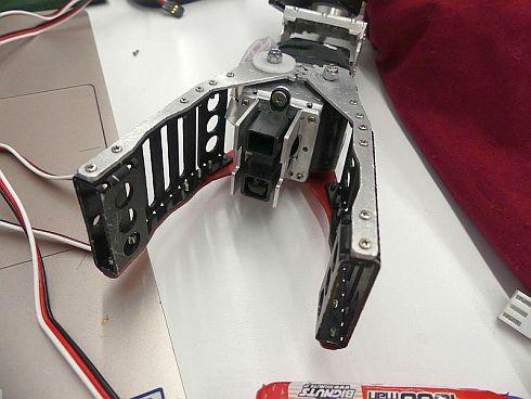 多くのロボットが、こういったタイプのPSDセンサーを使っている
