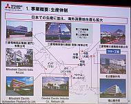 三菱電機のFAシステム事業の生産体制