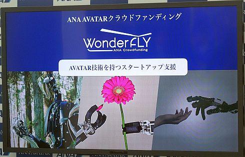 「WonderFLY」を活用したクラウドファンディング