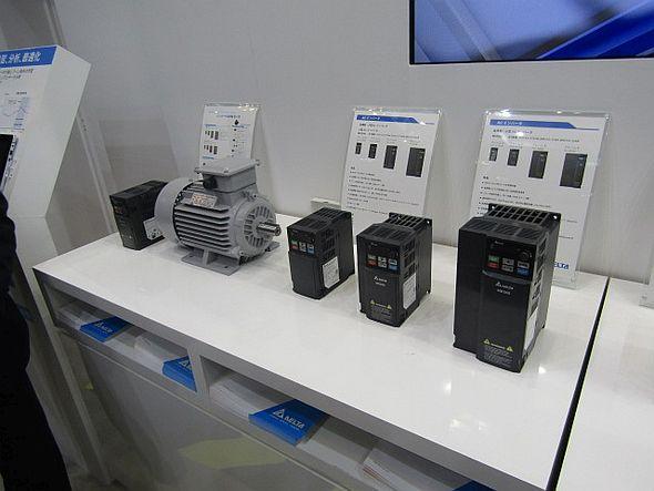 オートメーション分野ではインバータに新製品を追加した