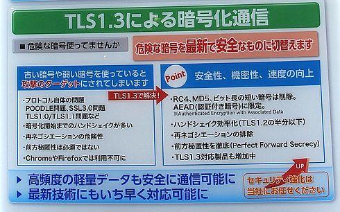 TLS1.3の特徴