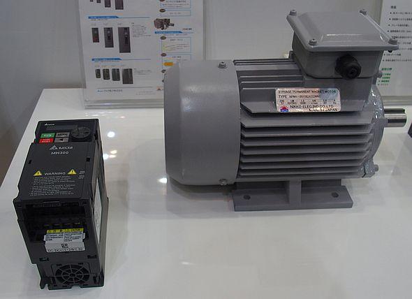 インバータはIPMモーターとの組み合わせ提案を推進