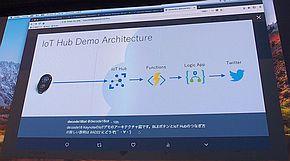 「Azure IoT Hub」のデモ