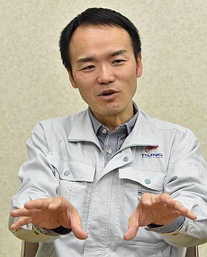 久野金属工業 専務取締役 兼 CIOの久野功雄氏