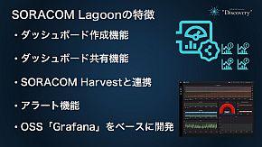 「SORACOM Lagoon」の特徴