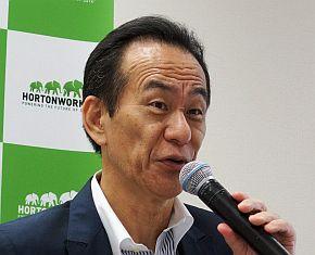 ホートンワークスジャパンの廣川裕司氏